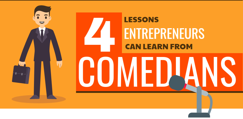 Lessons: For Entrepreneurs From Comedians
