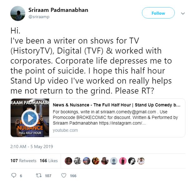 Sriraam Padmanabhan: Humour Sapiens