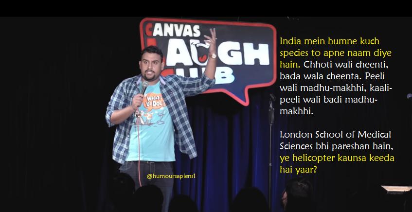Inder Sahani: Humour Sapiens