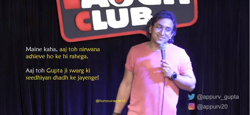 Appurv Gupta: Humour Sapiens