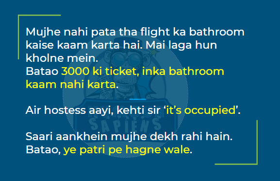 Pratush Chaubey: Humour Sapiens
