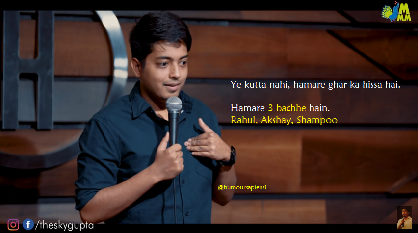 Aakash Gupta's video Dogs isn't funny!