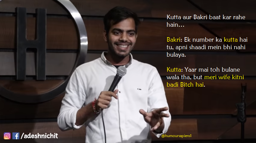 Adesh Nichit's stand-up Parent's Expectations