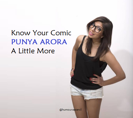 Know Your Comic: Punya Arora