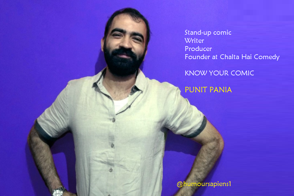 Know Your Comic: Punit Pania