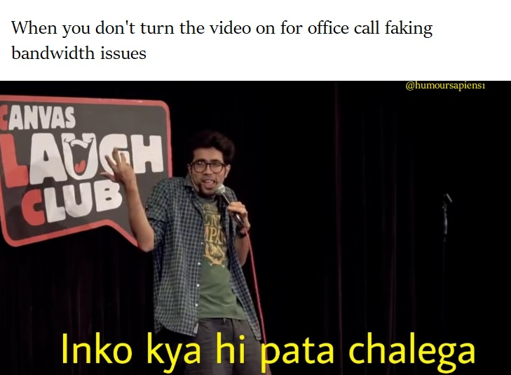 Abhishek Upmanyu: Humour Sapiens meme