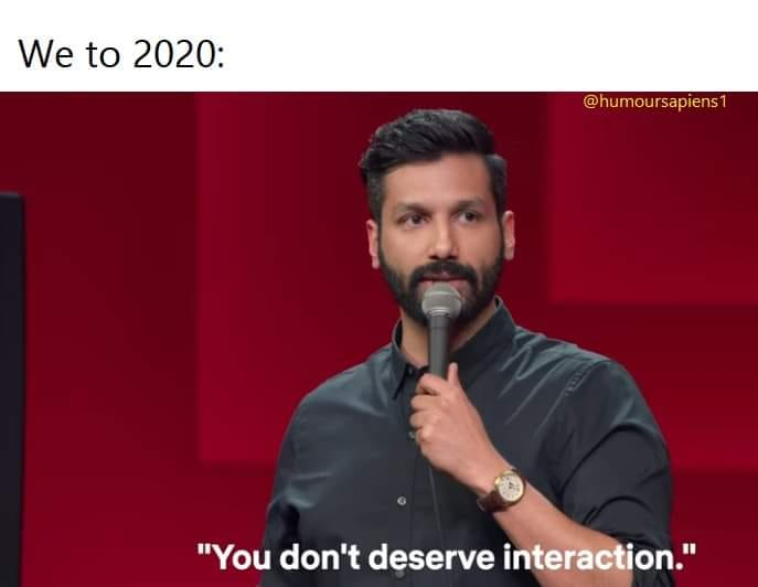 Kanan Gill: Humour Sapiens Meme