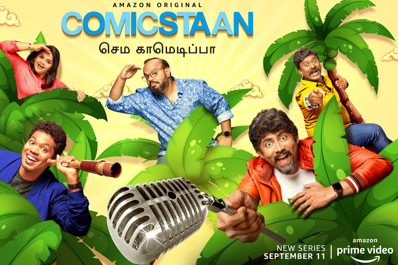Amazon Prime Video launches Comicstaan Semma Comedy Pa