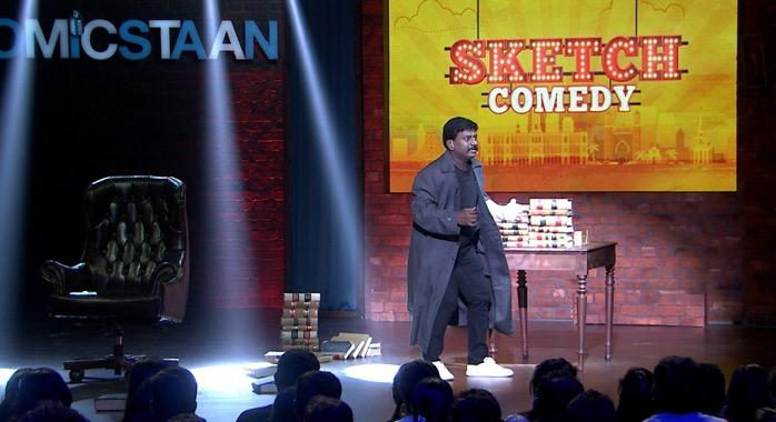 Rajmohan: Comicstaan Tamil: Semma Comedy Pa: Humour Sapiens