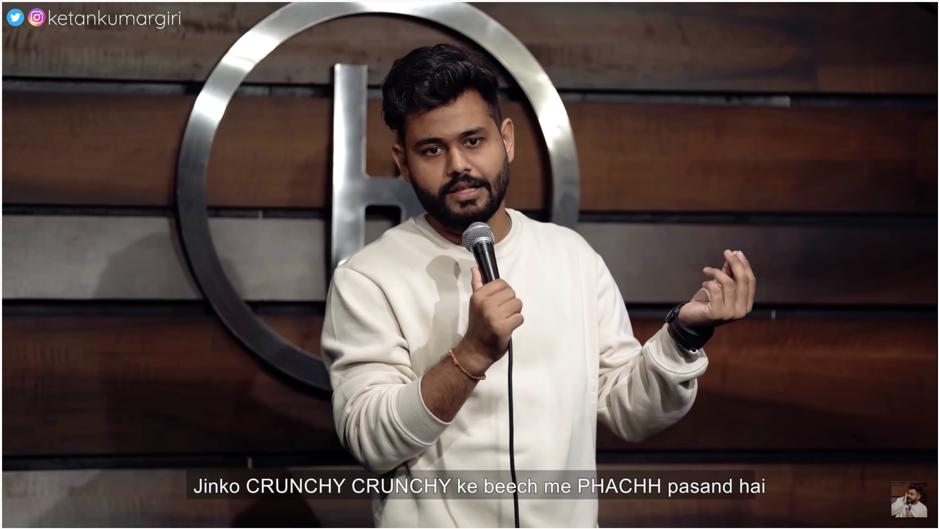 Ketan Kumar Giri: stand-up comic on a roll